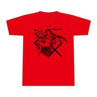 【QUADRANGLE】LUCIFER T-SHIRTS (RED)