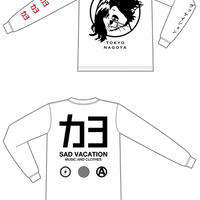 【カヨ】カヨ×SAD VACATION Long Sleeve T-Shirt