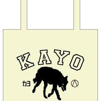 【カヨ】COLLEGE SHOULDER BAG     (ステッカー・缶バッジ付)