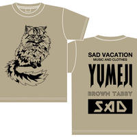 【SAD VACATION】 SAD VACATION × YUMEJI BIG T-SHIRTS(サンドカーキ)