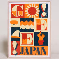 JEFF CANHAM × GEE ORIGINAL SILKSCREEN PRINT  ON FLAME  / A