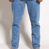RVCA ALEX KNOST SIGNATURE COLLECTION HER DADS DENIM PANTS / BLEACHOUT