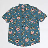 RVCA  PELLETIER TROPIC S/S SHIRTS / BLUE