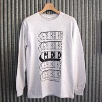 GEE ORIGINAL L/S T-SHIRTS / ASH