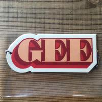 GEE ORIGINAL エアーフレッシュナー
