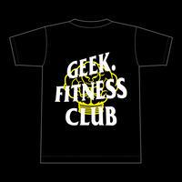 GEEK. FITNESS CLUB T-Shirt ver.1 [black]
