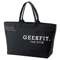 GEEKFIT. THE GYM BIG TOTE BAG [black]