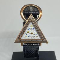フリーメイソン ピラミッド腕時計