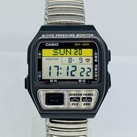 CASIO 血圧測定器付き腕時計