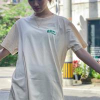T-shirt Beige×Blue