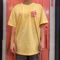 motel T-shirt vanilla×Blue