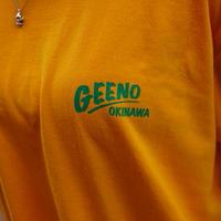 T-shirt Orange×Brown
