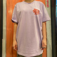 burger T-shirt purple