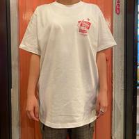 motel T-shirt White×Blue