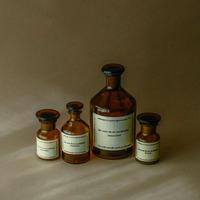Hungary old medicine bottle.
