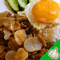 ガーリックガパオ/タイ田舎料理 クンヤー