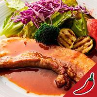 ジューシー黒豚カルビ焼/赤い壺