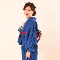 【サンプル販売!】10秒着物トップス / レースアップデニム