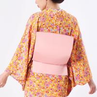 お太鼓作り帯 / ピンク