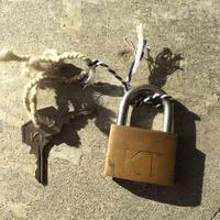オランダで見つけたヴィンテージ南京錠