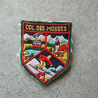 ワッペンブローチ COL DES MOSSES