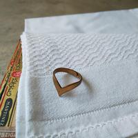 オランダ 真鍮リング デザイン1