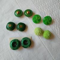 ドイツ ボタンアソートセット  緑