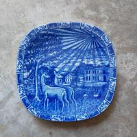 ロールストランド  絵皿 イヤープレート 1980年