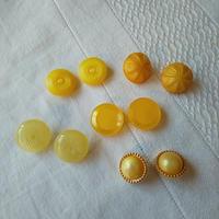 ドイツ ボタンアソートセット  黄色
