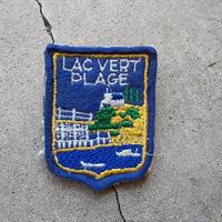 ワッペンブローチ Lac Vert Plage(ベール湖)