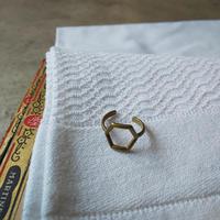 オランダ 真鍮リング デザイン3