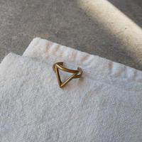 オランダ 真鍮リング デザイン三角