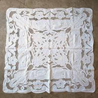 オランダ 透かし刺繍テーブルクロス