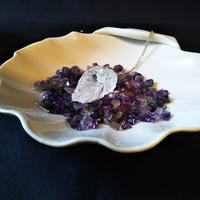 セドナの皿とアメジストさざれ石のセット
