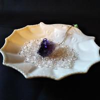 セドナの皿と水晶さざれ石のセット
