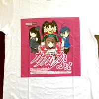 限定Tシャツ【カノカレかふぇSDキャラ ピンク】(白)