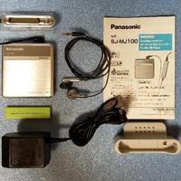 MDポータブルプレーヤー Panasonic SJ-MJ100 MDLP対応  完動品