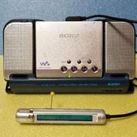 MDポータブルプレーヤー SONY MZ-E810SP MDLP対応 完動品