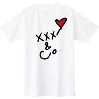 バックプリントXXX&Co. (5.6oz) 黒線