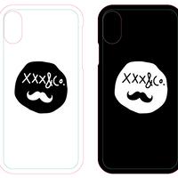 Smile iPhoneケース印刷(iPhoneXR用・背面印刷・ハード)