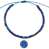 The Seed Bead Bracelet / Sea Sparkle / Royal Blue / Royal Blue
