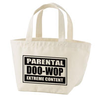 Parental Doo-Wop トートバッグ・ミニ(ナチュラル)