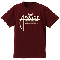 THE APOLLOS / A-LOGO Tee(バーガンディ)