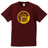 THE APOLLOS / 20th Anniversary Tee(バーガンディ)