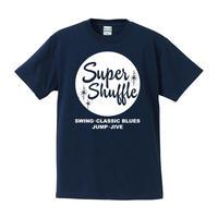 Super Shuffle / ロゴTee(インディゴ)