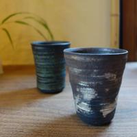 Norikazu Ogawa 鉄銀彩焼酎カップ