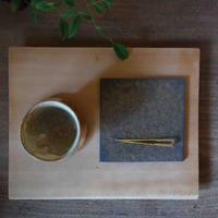 Norikazu ogawa  鉄彩角銘々皿