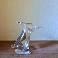 Masaki Kawanabe 吹きガラス うさぎのキャンドルホルダー