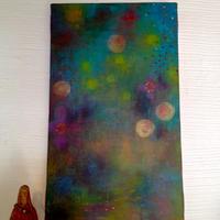 chizuru furukawa  「色の妖精」油彩キャンバス