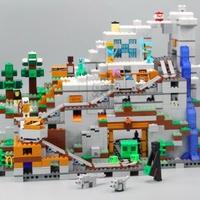 山の洞窟 MINECRAFT 人気 レゴ互換ブロック 18032
